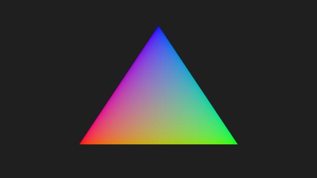Vulkan Triangle screenshot