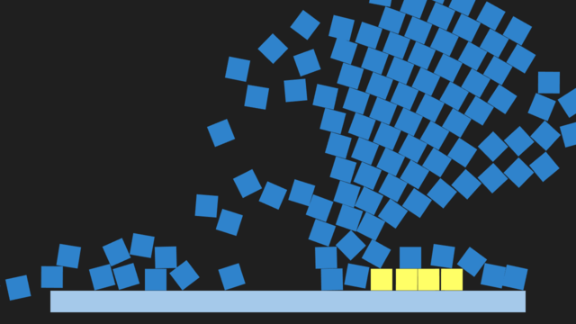 Box2D example screenshot