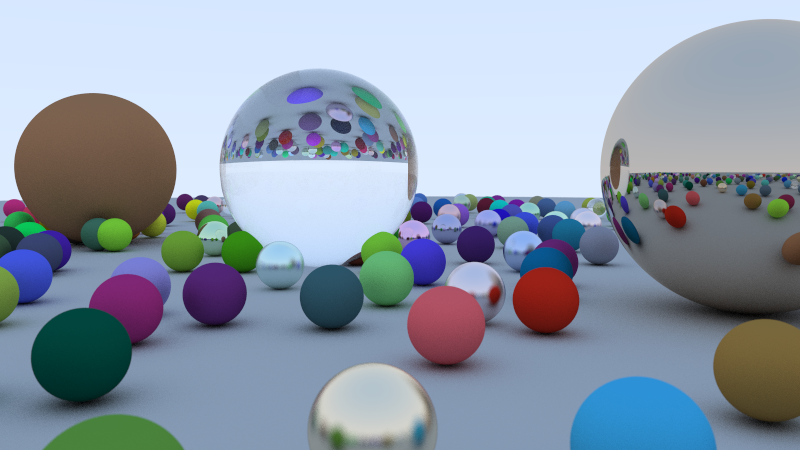 Ray Tracing example screenshot