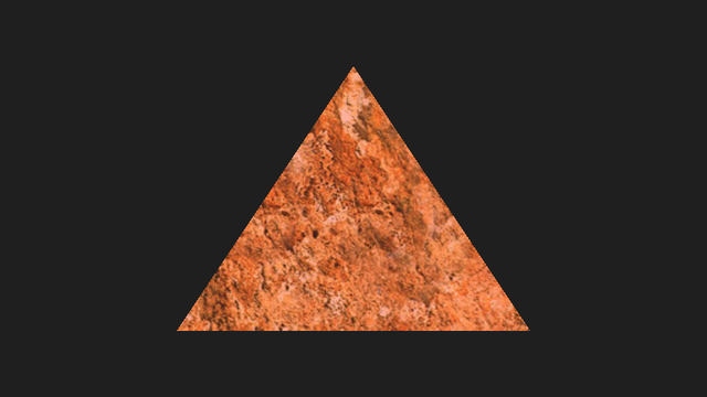 Textured triangle example screenshot